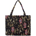 Floral Pattern Background Mini Tote Bag View1