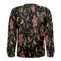 Floral Pattern Background Men s Long Sleeve Tee View2