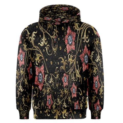 Floral Pattern Background Men s Pullover Hoodie