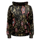 Floral Pattern Background Women s Pullover Hoodie View1