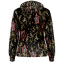 Floral Pattern Background Women s Pullover Hoodie View2