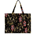 Floral Pattern Background Large Tote Bag View1