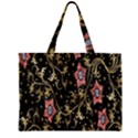 Floral Pattern Background Large Tote Bag View2