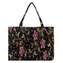 Floral Pattern Background Medium Tote Bag View1