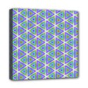 Colorful Retro Geometric Pattern Mini Canvas 8  x 8  View1
