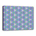 Colorful Retro Geometric Pattern Canvas 16  x 12  View1