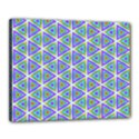 Colorful Retro Geometric Pattern Canvas 20  x 16  View1
