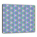Colorful Retro Geometric Pattern Canvas 24  x 20  View1