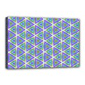 Colorful Retro Geometric Pattern Canvas 18  x 12  View1