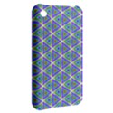 Colorful Retro Geometric Pattern Apple iPhone 3G/3GS Hardshell Case View2