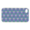 Colorful Retro Geometric Pattern Apple iPhone 4/4S Hardshell Case View1