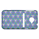 Colorful Retro Geometric Pattern HTC Evo 4G LTE Hardshell Case  View1