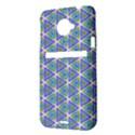 Colorful Retro Geometric Pattern HTC Evo 4G LTE Hardshell Case  View3