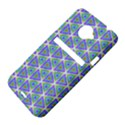 Colorful Retro Geometric Pattern HTC Evo 4G LTE Hardshell Case  View4