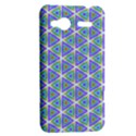 Colorful Retro Geometric Pattern HTC Radar Hardshell Case  View2