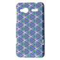 Colorful Retro Geometric Pattern HTC Radar Hardshell Case  View3