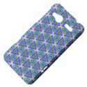 Colorful Retro Geometric Pattern HTC Radar Hardshell Case  View4