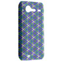Colorful Retro Geometric Pattern HTC Incredible S Hardshell Case  View2