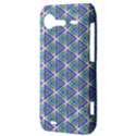 Colorful Retro Geometric Pattern HTC Incredible S Hardshell Case  View3