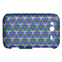 Colorful Retro Geometric Pattern HTC Wildfire S A510e Hardshell Case View1