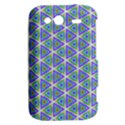 Colorful Retro Geometric Pattern HTC Wildfire S A510e Hardshell Case View2