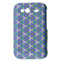 Colorful Retro Geometric Pattern HTC Wildfire S A510e Hardshell Case View3