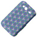 Colorful Retro Geometric Pattern HTC Wildfire S A510e Hardshell Case View4