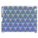 Colorful Retro Geometric Pattern Apple iPad 3/4 Hardshell Case (Compatible with Smart Cover) View1