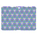 Colorful Retro Geometric Pattern Samsung Galaxy Tab 10.1  P7500 Hardshell Case  View1