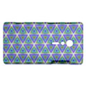 Colorful Retro Geometric Pattern Sony Xperia ion View1