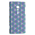 Colorful Retro Geometric Pattern Sony Xperia ion View2