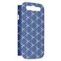 Colorful Retro Geometric Pattern Samsung Galaxy S III Hardshell Case (PC+Silicone) View2