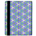 Colorful Retro Geometric Pattern Kindle Fire (1st Gen) Flip Case View3