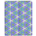 Colorful Retro Geometric Pattern Apple iPad 2 Flip Case View1