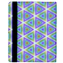 Colorful Retro Geometric Pattern Apple iPad 2 Flip Case View3