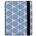 Colorful Retro Geometric Pattern Apple iPad Mini Flip Case View2