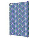 Colorful Retro Geometric Pattern Apple iPad Mini Hardshell Case View3
