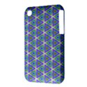Colorful Retro Geometric Pattern Apple iPhone 3G/3GS Hardshell Case (PC+Silicone) View3