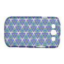 Colorful Retro Geometric Pattern Samsung Galaxy S III Classic Hardshell Case (PC+Silicone) View1