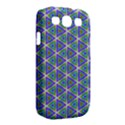 Colorful Retro Geometric Pattern Samsung Galaxy S III Classic Hardshell Case (PC+Silicone) View2
