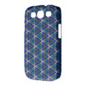 Colorful Retro Geometric Pattern Samsung Galaxy S III Classic Hardshell Case (PC+Silicone) View3