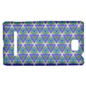 Colorful Retro Geometric Pattern HTC 8S Hardshell Case View1