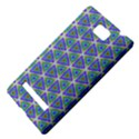 Colorful Retro Geometric Pattern HTC 8S Hardshell Case View4