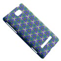 Colorful Retro Geometric Pattern HTC 8S Hardshell Case View5