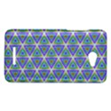 Colorful Retro Geometric Pattern HTC Butterfly X920E Hardshell Case View1