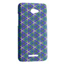 Colorful Retro Geometric Pattern HTC Butterfly X920E Hardshell Case View2