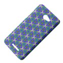 Colorful Retro Geometric Pattern HTC Butterfly X920E Hardshell Case View4