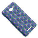 Colorful Retro Geometric Pattern HTC Butterfly X920E Hardshell Case View5