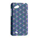 Colorful Retro Geometric Pattern HTC Desire VC (T328D) Hardshell Case View2