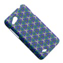Colorful Retro Geometric Pattern HTC Desire VC (T328D) Hardshell Case View5